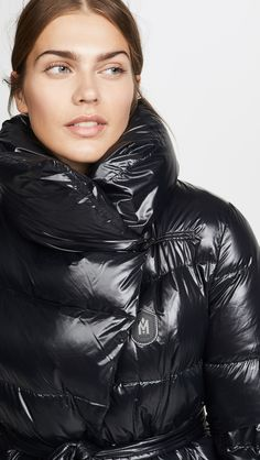 Mackage Linzie Jacket | SHOPBOP Down Parka, Down Coat, Coats For Women, Jackets For Women, Mackage Jacket, Wing Collar, Puffy Jacket, China Fashion, School Fashion
