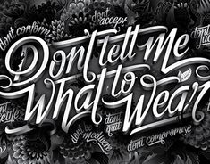 Illustrated typographic mural for the back-wall light-boxes in LEGiT stores across South Africa by Dani Loureiro