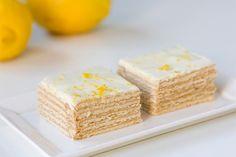 עוגת ביסקוויטים עם קרם לימון | foodpage - כל המתכונים במקום אחד