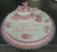 Risultati immagini per torta alla panna per battesimo Cake, Desserts, Food, Tailgate Desserts, Deserts, Kuchen, Essen, Postres, Meals