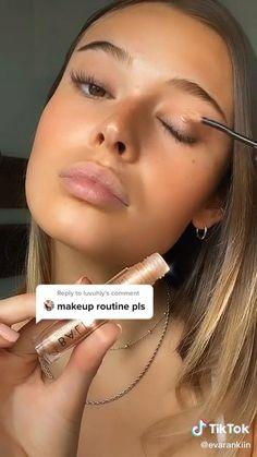 Daily Makeup, Makeup Goals, Makeup Tips, Beauty Makeup, Neutral Makeup, Nude Makeup, Skin Makeup, Doll Eye Makeup, Natural Everyday Makeup