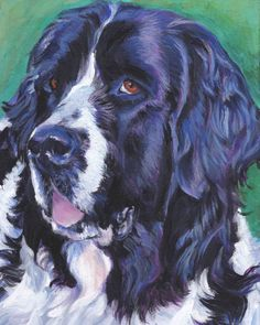 Landseer Newfoundland Painting - Landseer Newfoundland by Lee Ann Shepard Dog Line Drawing, Drawing Tips, Dog Paintings, Newfoundland, Dog Art, Mans Best Friend, Dog Pictures, Art Forms, Painting & Drawing
