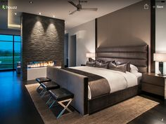 Grey and Beige Bedroom