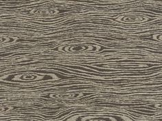 Woven faux bois pattern with a touch of chenille for extra texture.