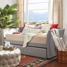 """Cassidee 89.5"""" Trundle Daybed"""