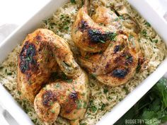 Pressure Cooker Chicken and Rice - Budget Bytes