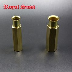 1pcs hex hair stacker/ fly fishing tying tools for line up hairs& feathers slim/robust superfine hexagon brass material stacker