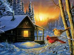 "Golden Frost"""" 1000 Piece Puzzle"