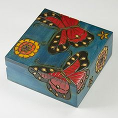 Box carved in Poland