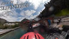 Area 47 2019 Slip and Slide 360° VR POV Vr, Train, Water, Gripe Water, Aqua