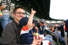 13) Summers were for visits to Detroit Tigers games.