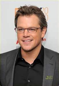 I have a crush on matt damon right now.