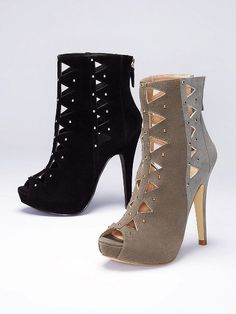 not mad at this.   Diamond Cut-out Bootie - Colin Stuart - Victoria's Secret