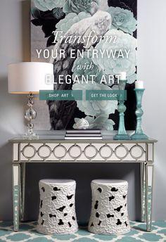 Transform Your Entryway with Elegant Art