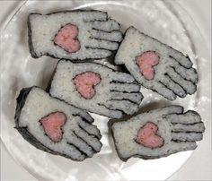 Необычные роллы, суши