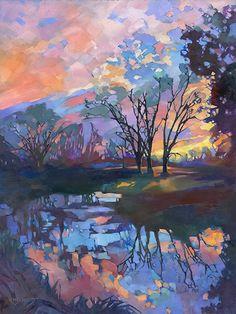 Louisiana Edgewood Art Paintings by Louisiana artist Karen Mathison Schmidt: New Limited Edition prints ...