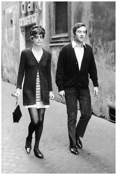 Audrey Hepburn with her husband, Andrea Dotti.