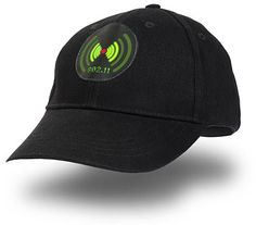 Wi-fi Detector Cap - Glowing bars light up when Wi-fi is near!