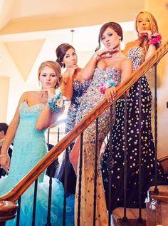 Squad Goals! love the dresses!