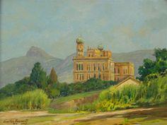 Fundação Oswaldo Cruz, 1947 Gastão Formenti (Brasil, 1894-1974) óleo sobre tela, 26 x 42 cm
