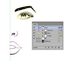 AI - Create a Line Art Based Symmetrical Portrait in Adobe Illustrator