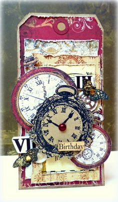 Lovely Timepiece tag. @Romy Veul #bobunny