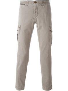 Comprar Eleventy pantalones con bolsillos tipo cargo en Russo Capri from the…