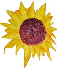My Sunflower Mural Painting