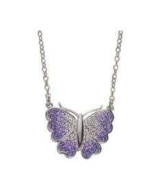 Buy Prizma Swarovski Crystal Elements Butterfly Necklet at Argos.co.uk - Your Online Shop for Ladies' necklaces.