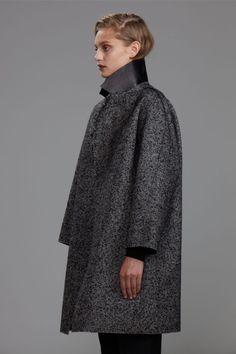 Christopher Esber | Gusset Tweed Cocoon Coat | Swoon