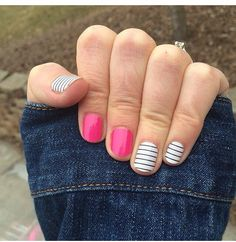 Jamberry - Country Club & pink!