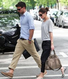 best dressed couple award: Olivia Palermo and bf