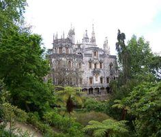 Neglected buildings Italy   Sintra: Quinta de Regaleira