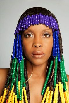 fashion hair styles erykah badu retro braid beaded hairstyle i wish i had 9160 | a89e9c599b8fa9160f3d513ea6855218 braid hairstyles natural hairstyles