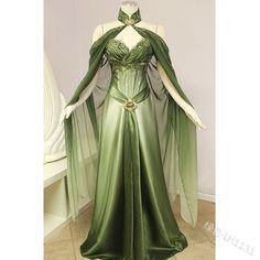 Fairy Dress, Fairytale Dress, Costume Halloween, Elf Costume, Halloween Fairy, Cosplay Dress, Fairy Cosplay, Queen Costume, Godess Costume