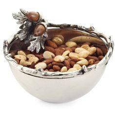 MudPie~ Metal Acorn Dip Cup/Nut Bowl – LilLambs Boutique