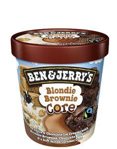 Blondie Brownie Core | Ben & Jerry's