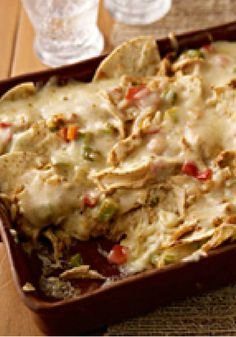 Pepper Jack Nacho Bake – Try this delicious Pepper Jack Nacho Bake once, and you might find yourself making chicken dinners just to get the leftovers for this recipe!