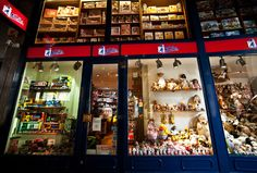 Things to Do in Milan With Kids - pictured: Kids can shop for toys at Nano Bleu in Milan, Italy : fourseasons