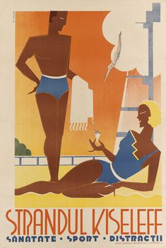 Sale 2326 Lot 114, Swann Galleries MAUR & CO. STRANDUL KISELEFF. Circa 1930. Estimate $1,200 - 1,800