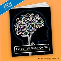 "What's going on in your child's brain? Register for the ""Executive Function 101"" e-book, a must-have resource for parents of children with executive function issues. http://ncld.convio.net/site/Survey?ACTION_REQUIRED=URI_ACTION_USER_REQUESTS&SURVEY_ID=3620&s_src=pinterest-exec-funct-ebook"