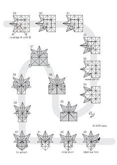 origami leaf 3