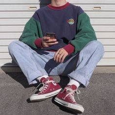 Adrette Outfits, Indie Outfits, Retro Outfits, Vintage Outfits, Fashion Outfits, Teen Boys Outfits, Soft Grunge Outfits, Skater Girl Outfits, Flannel Outfits