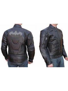 Batman Black Biker Jacket