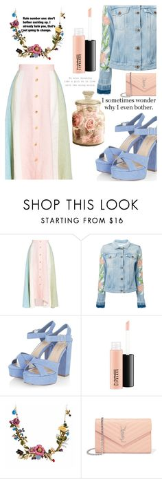 """210"" by erohina-d ❤ liked on Polyvore featuring Peter Pilotto, Off-White, MAC Cosmetics, Les Néréides, Grey's Anatomy, Lauren Ralph Lauren and Yves Saint Laurent"