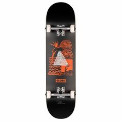 The new G1 Fairweather is a complete skateboard from Globe that offers a distinctive Fair-weather artwork at the bottom in a Red and Black combinations. Skateboard Hardware, Complete Skateboards, Diamond Supply, Concave, Globe, Best Gifts, Colour Black, Red, Weather