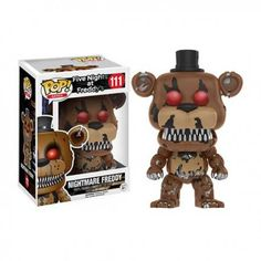 Figura Funko Pop Five Nights at Freddy's Nightmare Freddy