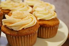 Snickerdoodle Cupcakes by ItsJoelen, via Flickr