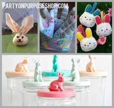 bunny party favor and activity ideas
