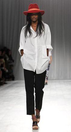 the perfect white shirt - Paul Smith | London Fashion Week